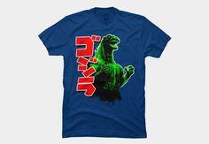 Godzilla Men's T-Shirt