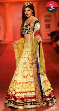 Jacqueline Fernandez at Pune Fashion Week 2013 Bollywood Celebrities, Bollywood Fashion, Bollywood Style, Indian Attire, Indian Wear, Indian Style, Pakistani Outfits, Indian Outfits, Indian Clothes