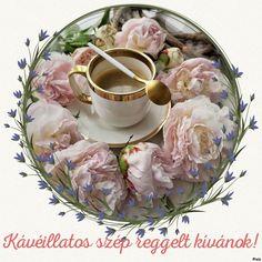 Good Morning, Tea Cups, Album, Tableware, Buen Dia, Dinnerware, Bonjour, Dishes, Bom Dia