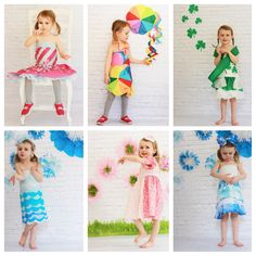 6 dress recap Follow us on Instagram @diypaperdresses @lauralarson81 Paper Clothes, Paper Dresses, Tissue Paper Crafts, Yellow Shoes, New Uses, How To Make Paper, How To Look Pretty, Paper Flowers, Kids Fashion