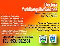Médicos en Tlaxiaco.