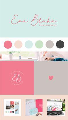 Brand + e-Commerce Website Design for Eva Blake Photography Branding Kit, Branding Design, Love Design, Baby Design, Web Design Projects, Homepage Design, Brand Book, Brand Guidelines, Website Design Inspiration
