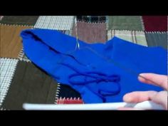 How to restring your Hoodie or Sweatshirt in less than a Minute - YouTube