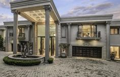 The epitome of refined elegance and grace in Sandton. Mansions, Space, Elegant, Luxury, House Styles, Hot, Modern, Design, Home Decor