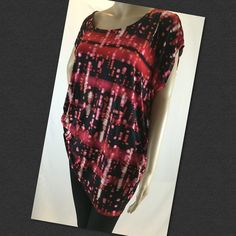 Tina knowles stretch top Great shape made from poly spandex (location14) Miss Tina Tops