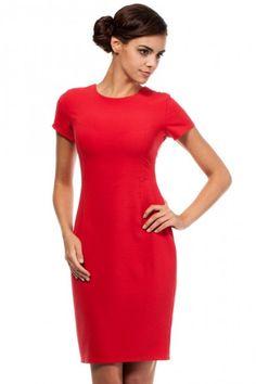 56412cbbc7 Nowatorskie spojrzenie na modę – sukienka wymarzona dla kobiet ceniących  sobie niebanalne detale. Prosty klasyczny