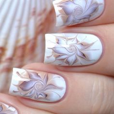 20 Marble Nail Art Tutorials That Are Truly Mesmerizing. Not to mention, they actually look somewhat do-able. : 20 Marble Nail Art Tutorials That Are Truly Mesmerizing. Not to mention, they actually look somewhat do-able. Nail Polish Trends, Nail Polish Colors, Marble Nail Designs, Nail Art Designs, Love Nails, Pretty Nails, Nagellack Design, Water Marble Nail Art, How To Marble Nails