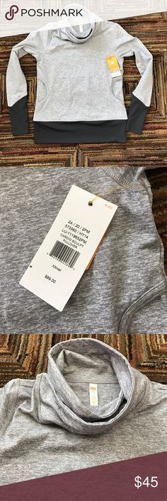 NWT cardio sculpt Lucy brand pullover size XS Super cute pull over sweater great for working out or just lounging around. Lucy brand size extra small Lucy Sweaters