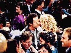 Billy Crystal and Meg Ryan ~ When Harry Met Sally - Movie Stills #romcoms #moviestills #whenharrymetsally New Year Eve Movie, New Years Eve Kiss, Romantic Movie Scenes, Romantic Movies, Movie Kisses, Billy Crystal, When Harry Met Sally, Meg Ryan, People