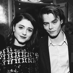 This is one rumor we seriously hope is true! Recent pictures of Natalia Dyer (Nancy) and Charlie Heaton (Jonathan) are leading us to believe that these Stranger Things costars may be an item.
