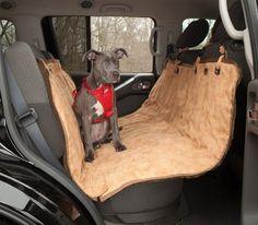 Kurgo Stowe Dog Hammock - http://www.thepuppy.org/kurgo-stowe-dog-hammock/