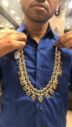 PREMRAJ SHANTILAL JAIN JEWELLERS whatsapp on 9700009000 for enquiry with picture Necklace Drawing, Indian Wedding Jewelry, Indian Jewellery Design, Golden Jewelry, Jewelry Model, India Jewelry, Blouse Designs, Necklace Designs, Bridal Necklace
