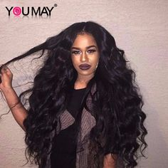 139.20$ Watch here - http://ali1kl.worldwells.pw/go.php?t=32757308944 - 7A 250% Density Lace Front Human Hair Wigs For Black Women Lace Frontal Wigs Full and Thick Brazilian Body Wave Human Hair Wigs