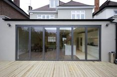 single storey flat roof extension - Google Search