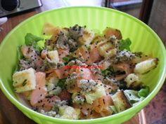 Sta sera cucino io: Insalata Salmone e Sesamo