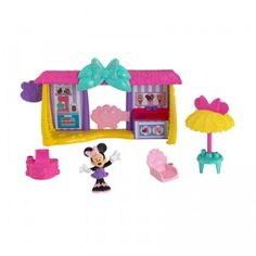 Fisher-Price Disney Minnie Mouse: Minnie's Snack Shack Playset -The Minnie Mouse Bowtique toy line, is so simple and adorable. They're toys are the perfect sets for original Minnie adventures! Minnie Mouse Dress Up, Minnie Mouse Toys, Fisher Price, Disney Cookies, Girl Cave, Fire Dragon, Camping, Disney Toys, New Toys