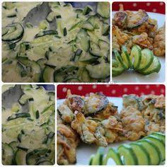 Frittatine di zucchine in pastella semplice e veloce: sono un antipasto o un contorno di verdure semplici, gustose ed economiche. La pastella è facile