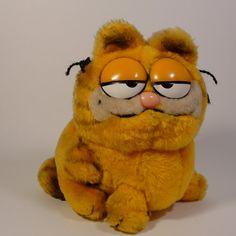 Antique Garfield Teddy