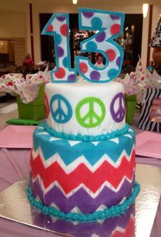 - 13th Birthday Cake