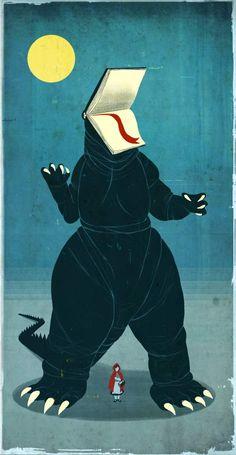 New scary tales by Emiliano Ponzi