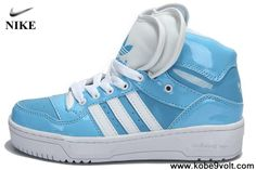 Buy Discount Adidas Attitude Logo Double Heart Tongue Shoes Blue For Sale