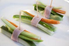 Enrroladinho de legumes