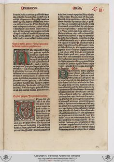 Stamp.Ross.498: Stamp.Ross.498 Biblia [Tedesco] (8 Sept. 1477)