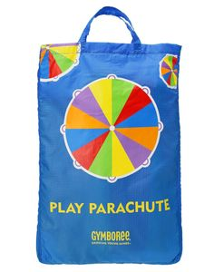 It's parachute time! Great for picnics, birthday parties, and all sorts of indoor and outdoor fun, our colorful Play Parachute is a mini version of the one used in Play & Music classes. Suggested activities encourage physical activity and creative play to enhance young imaginations.