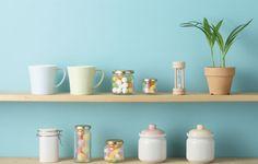 İç Mekan Tasarım Önerileri- Mutfağınızda Raf Kullanın! #KONSEPTPROJELER