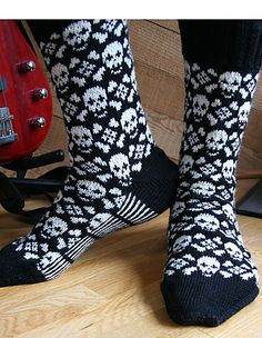 Someday, I will learn how to knit socks...and do colorwork or intarsia or whatever it's called!
