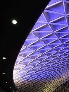 King's Cross Railway Station, London, UK
