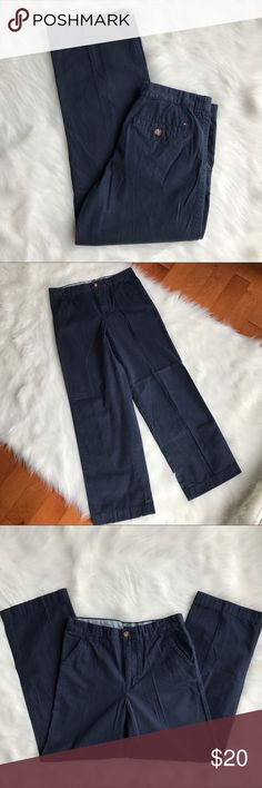 Tommy Hilfiger Navy Blue Khakis Tommy Hilfiger Khakis. Color: navy blue. Excellent condition-color did fade. Size: boy18. Tommy Hilfiger Bottoms Casual
