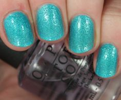 What's a Little Rain Forest? from OPI Beach Sandies Mini Collection