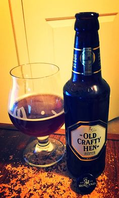 Old Crafty Hen from Greene King - A Video Beer Review