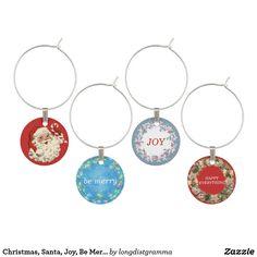 Christmas, Santa, Joy, Be Merry, Happy Everything,