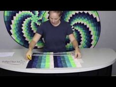 Cheryl Phillips' February's 22.5 Squedge Table Topper - YouTube