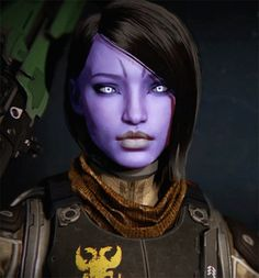 What does your Destiny character look like? - Page 2 - NeoGAF Female Character Design, Character Creation, Character Art, Character Portraits, Destiny Warlock, Destiny Bungie, Destiny Hunter, Destiny Game, Destiny Cosplay