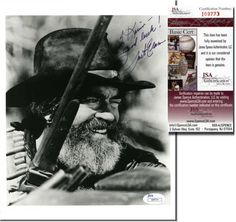 JACK ELAM Hand Signed 8x10 - JSA COA - UACC RD#289 in Collectibles, Autographs, Movies | eBay