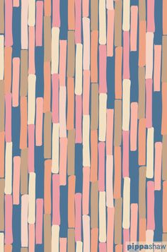 """Loving this color palette. """"Boardwalk"""" abstract repeat pattern by Pippa Shaw"""