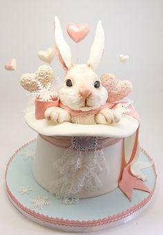 1085 Best Bunny Cakes Images On Pinterest Children Cake