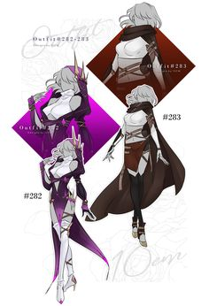 O u t f i t – by on DeviantArt – . Character Creation, Character Concept, Character Art, Drawing Anime Clothes, Character Outfits, Anime Outfits, Character Design Inspiration, Deviantart, Costume Design