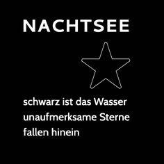 Nachtsee • Gedicht