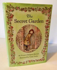 The Secret Garden by F.H. Burnett Illustrated by Tasha Tudor Hardcover w/ DJ