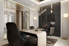 CEO Office Design Architectural Rendering by ArchiCGI on Behance