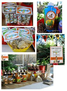 Lets Party Camping Collection FUN BirthdayParty Birthday Bash Parties