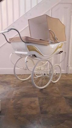 Twin Pram, Twin Cribs, Vintage Stroller, Vintage Pram, Pram Stroller, Baby Strollers, Carriage Bed, Silver Cross Prams, Prams And Pushchairs