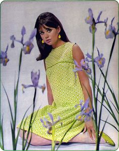 vintage everyday: Colleen Corby - Face of a Generation in 60s And 70s Fashion, Mod Fashion, Fashion Models, Vintage Fashion, Gothic Fashion, Sporty Fashion, Dress Fashion, Fashion Fashion, Fashion Women