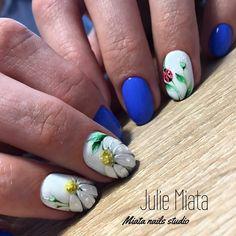 "601 Likes, 1 Comments - Идеи маникюра (@ideas_for_nailart) on Instagram: ""@julie_miata_nails - Спасибо @anna_yudasova_nail_art, до меня дошло, как адекватно нарисовать…"""
