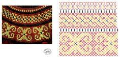 Natali Khovalko's photos Diy Necklace Patterns, Beaded Bracelet Patterns, Bead Loom Patterns, Jewelry Patterns, Beading Patterns, Seed Bead Projects, Beaded Bracelets Tutorial, Bracelet Crafts, Bead Jewellery