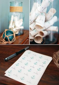 Creative Nautical Baby Shower {Coral